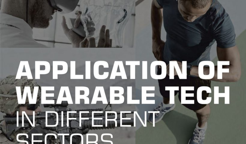 Application of Wearable Tech in Different Sectors