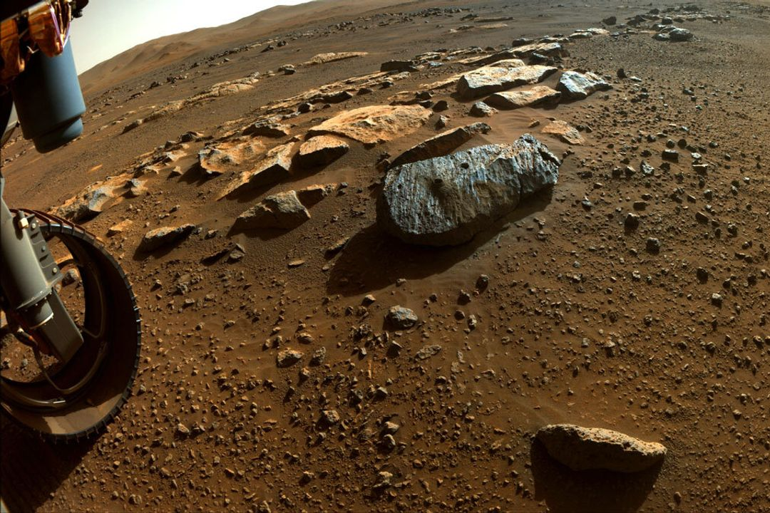 NASA's Perseverance Rover Collects Puzzle Pieces of Mars' History